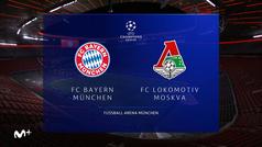 Champions League (J6): Resumen y goles del Bayern 2-0 Lokomotiv de Moscú