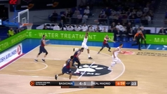 Euroliga. Resumen: Baskonia 86-76 Real Madrid