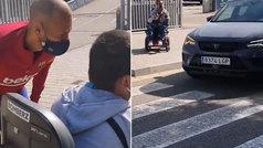"""El detallazo de Braithwaite con un aficionado en silla de ruedas: """"Grande"""""""