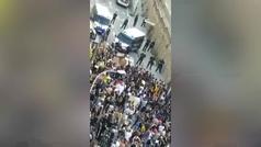 Se saltan el Estado de Alarma en Barcelona para protestar por George Floyd