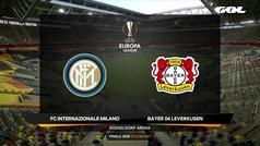 Europa League (cuartos): Resumen y goles del Inter de Milán 2-1 Bayer Leverkusen