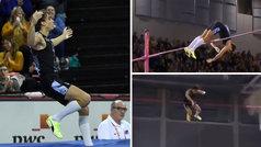 Duplantis bate de nuevo el récord del mundo de salto con pértiga: 6,18 metros... ¡a la primera y sob