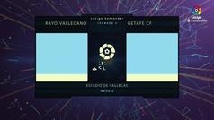 MX: LaLiga (J5): Resumen y goles Rayo Vallecano 3-0 Getafe