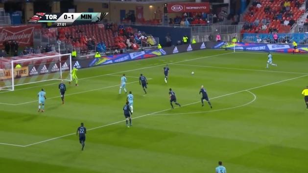 Otra exhibición de Alejandro Pozuelo en la MLS: doblete con golazo en dos minutos