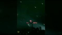 LeBron toma el escenario en un concierto de Drake