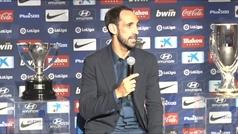 Despedida de Juanfran del Atletico de Madrid