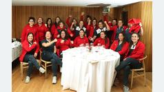 Natalia Santos, mánager de la selección española femenina de rugby, y la estelar Patricia García analizan el partido frente a Escocia