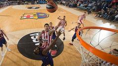 Euroliga. Resumen Barcelona 60-69 Olympiacos