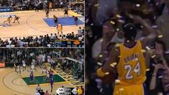 Un homenaje a la leyenda de Kobe: todas sus canastas ganadoras en un vídeo de 2 minutos