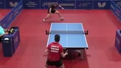El increíble punto de ping pong que está dando la vuelta al mundo