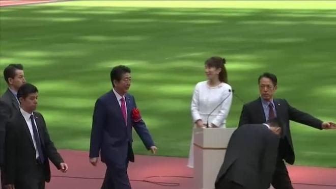 Inauguran estadio de Tokio a siete meses de Juegos Olímpicos