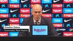 """Zidane: """"No estamos para callar bocas, pero hay que disfrutar"""""""
