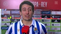 Las bonitas lágrimas de Oyarzabal tras hacer historia con la Real Sociedad