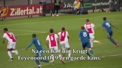 Ultras del Ajax agreden a padres de jugadores sub 19 del Feyenoord en pleno partido