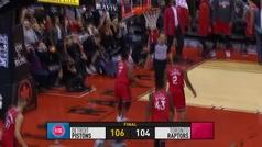 Raptors 104-106 Pistons