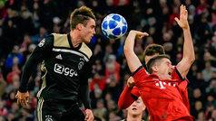 Champions League (J2): Resumen y goles del Bayern Múnich 1-1 Ajax