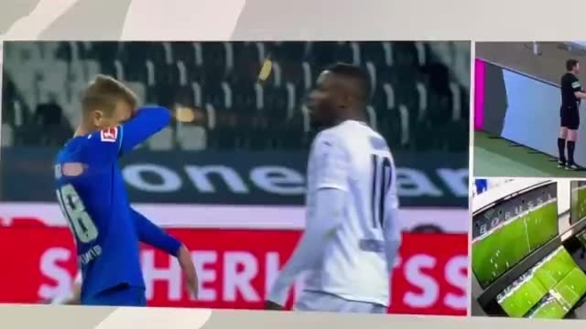 Gladbach's Thuram apologizes for spitting in opponent's face