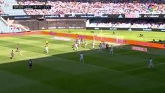 Gol de Coke (0-2) en el Celta 1-4 Levante