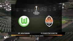 Europa League (octavos, ida): Resumen y goles del Wolfsburgo 1-2 Shakhtar