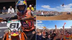 Así fue el genial GP de España de Motocross: las mejores acciones de Jorge Prado, 10.000 personas...