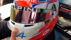 Alpine F1 Team desvela cómo será el casco para esta temporada