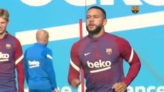El Barça prepara el partido ante el Valencia con todos menos Dest