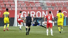 Copa del Rey (1/16 final): Resumen y goles del Girona 2-0 Cádiz