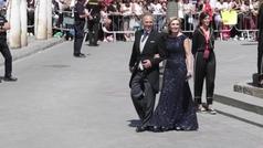 Los invitados van llegando a la boda de Sergio Ramos y Pilar Rubio