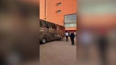 Así ha quedado el autobús del Real Madrid tras ser apedreado por hooligans del Liverpool