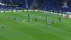 Gol de Etxeita (1-1) en el Espanyol 1-1 Huesca