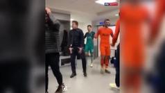 La locura de Pochettino en el vestuario del Etihad Stadium
