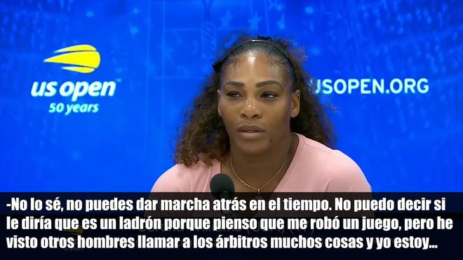 Serena Williams fue multada con 17.000 dólares por conducta antideportiva