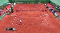 Djokovic frena su racha triunfal esta temporada y cae con estrépito ante Evans
