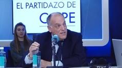 """Javier Tebas reconoce que votará a Vox: """"España necesitaba una alternativa así"""""""