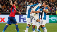 Europa League (J2): Resumen y goles del CSKA Moscú 0-2 Espanyol