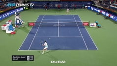 Bautista cae en primera ronda de Dubai (7-6, 7-5) ante Struff