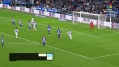 Gol de Enes Unal (p.) (2-2) en el Alavés 2-2 Valladolid