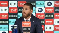 """Ramos: """"¿Que si jugaría en el Barça? Un no rotundo como el Bernabéu de grande"""""""