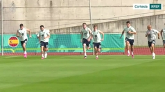 Así fue el primer entrenamiento de España tras su debut en la Eurocopa