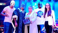 Blue Panther festeja 40 años de trayectoria con triunfo en la Arena México