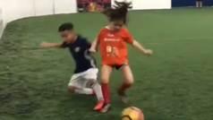 Ariana Dos Santos, la imparable niña prodigio del fútbol mundial