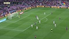 Gol de Messi (3-0) en el Barcelona 3-0 Alavés