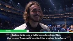 "Tsitsipas: ""Es como ganar un Grand Slam"""