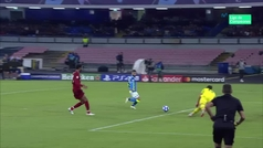 Gol de Insigne (1-0) en el Nápoles 1-0 Liverpool