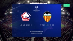 Champions League (Grupo H): Resumen y goles del Lille 1-1 Valencia