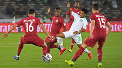 Copa de Asia: Resumen y goles del Arabia Saudita 0-2 Catar