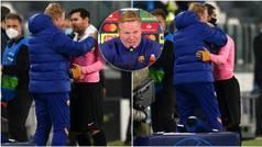 Koeman desvela lo que le dijo a Messi después del partido