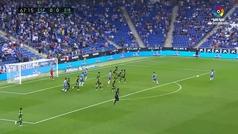 Gol de Mario Hermoso (1-0) en el Espanyol 1-0 Eibar