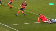 Gol de Gabriel Jesus (p.) (2-0) en el Manchester City 6-0 Shakthar