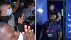 Lisboa da la espalda al Barça: sonoros abucheos a los jugadores en su llegada al hotel